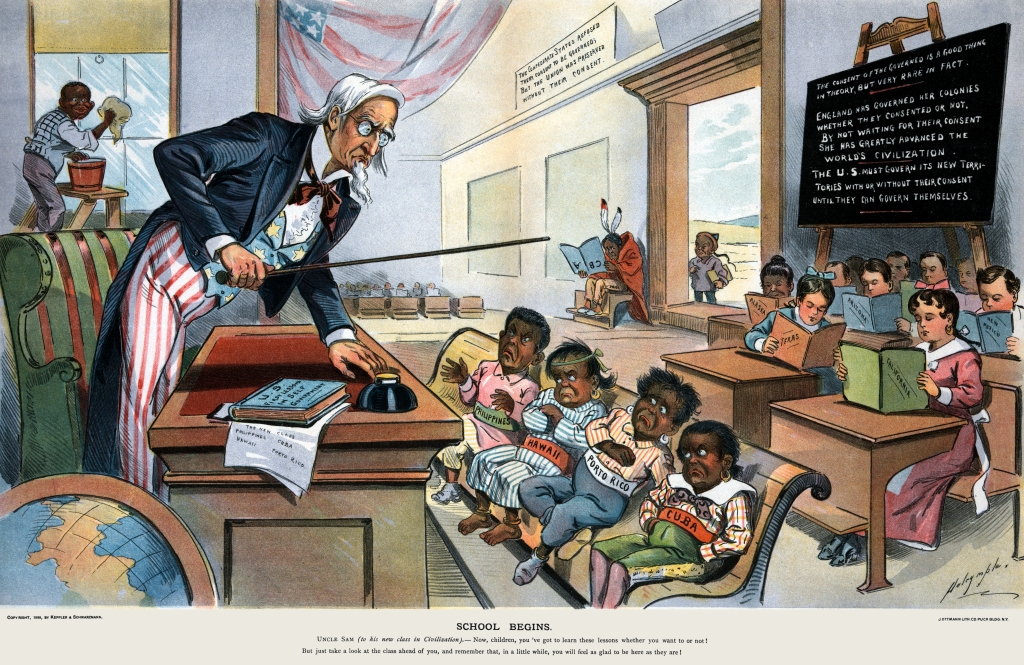 School_Begins_(Puck_Magazine_1-25-1899,_cropped)